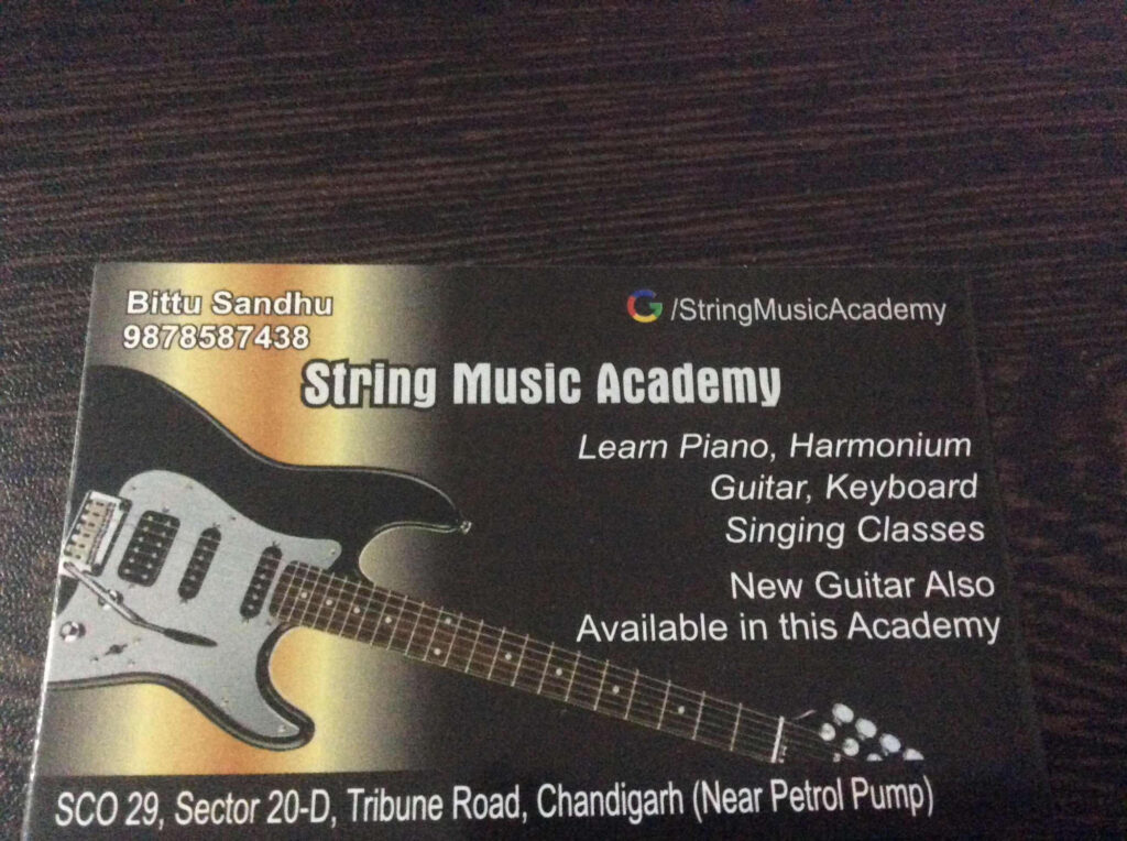 swar sangeet classes in chandigarh