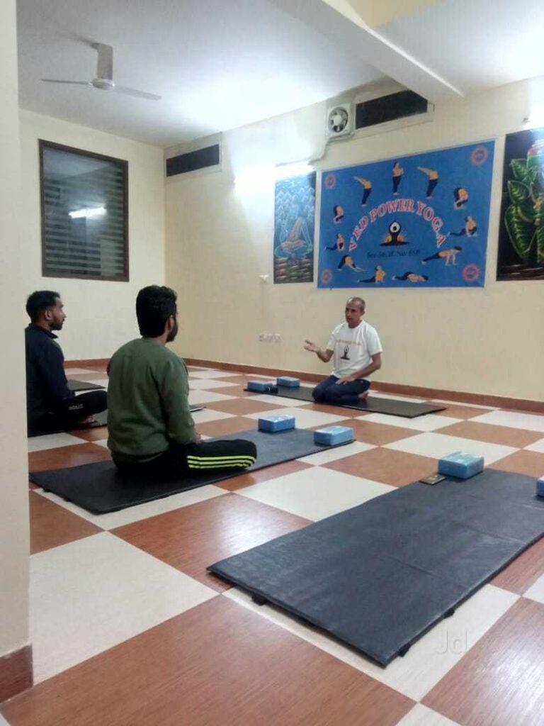 top yoga classes in Delhi