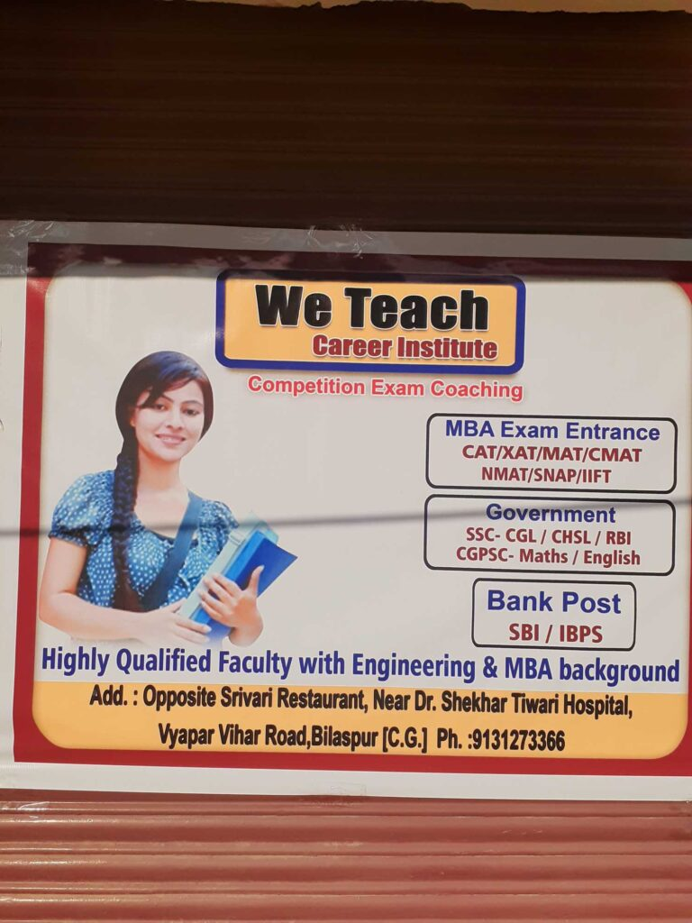 BEST CAT/CET CLASSES IN BILASPUR
