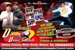 Best DANCE CLASSES IN RAIPUR